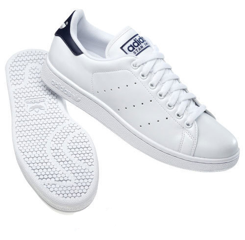 Adidas Originals Stan Smith 2 Leather Trainers White/Navy Mens Size Preview