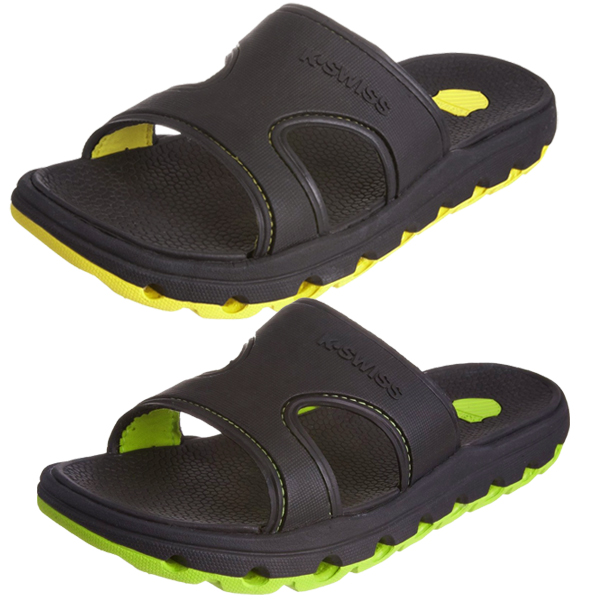 K-Swiss Tubes Sandals Flip Flops Beach Shoes Mens Size Enlarged Preview
