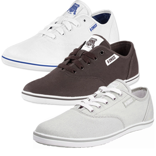 K-Swiss-Hof-II-Canvas-VNZ-Trainers-Pumps-Plimsolls-Mens-Size