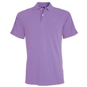 View Item Adidas Essential CR 3Stripe Polo Shirt Purple Lavender Mens Size