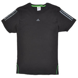 View Item Adidas Essentials CP Graphic Crew Neck T-Shirt Black/Lead Mens Size