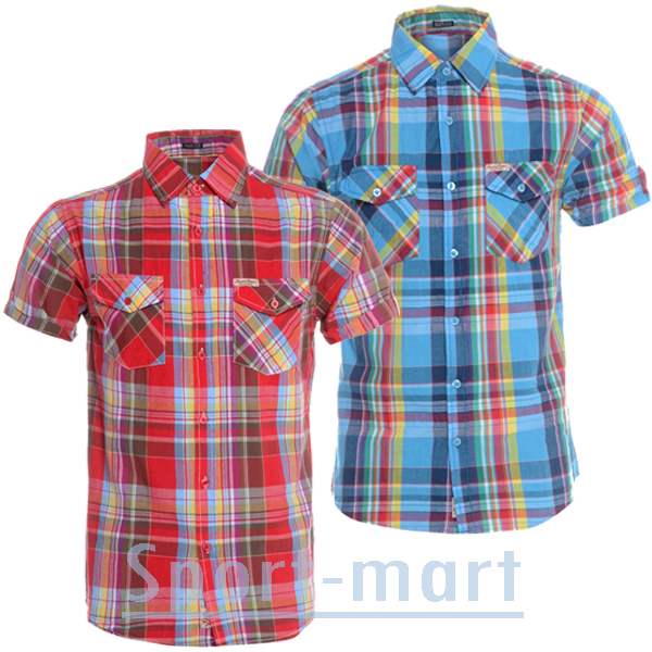 Soul Star Hammer Stylish Slim Fit Check Casual Shirt Mens Size Preview