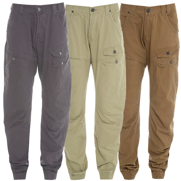Daniel Lei Cuffed Cargo Combat Chinos Trousers Jeans Kids Size Preview