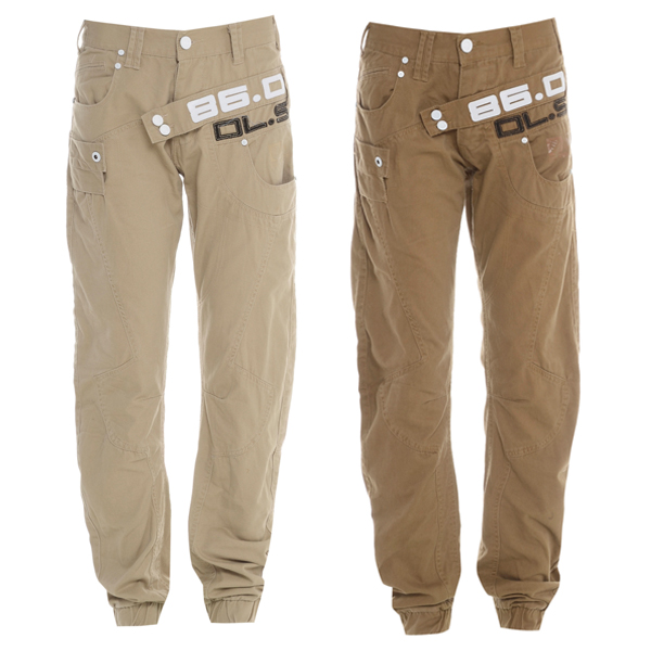 Daniel Lei Cuffed Regular Fit Chinos Trousers Jeans Mens Size Preview