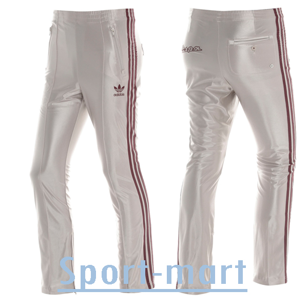 Adidas Originals Vespa Bottoms Pants Trouser Champagne/Maroon Mens Size Preview