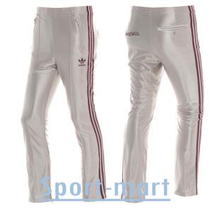 Adidas Originals Vespa Bottoms Pants Trouser Champagne/Maroon Mens Size