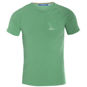 View Item Adidas Originals SY V-Neck T-Shirt Aero Green Mens Size