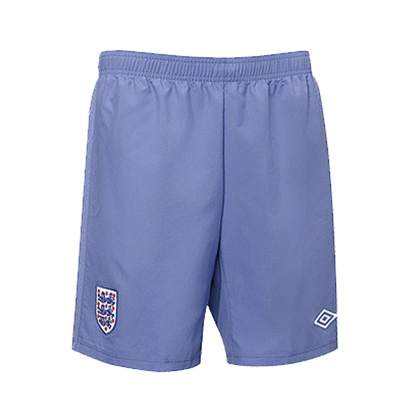 Umbro Official England Woven Football Training Shorts Indigo Blue Mens Size Preview
