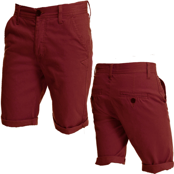 D-Struct Series Tailor Fitted Summer Denim Chino Shorts Mens Size