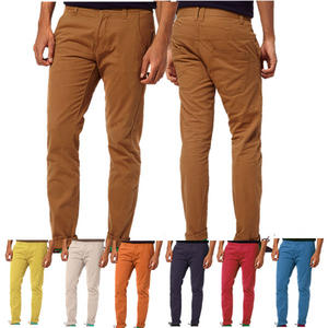 View Item D-Struct Slim Fit Open Hem Twisted Leg Chinos Jeans Trousers Mens Size