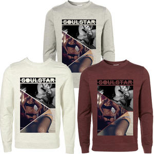 Soulstar Candy Girls Printed Crew Neck Sweatshirt Top Mens Size