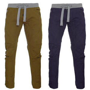 View Item 55Soul Cargo Cuffed Combat Crotch  Jeans Chino Trousers Pants Mens Waist Size