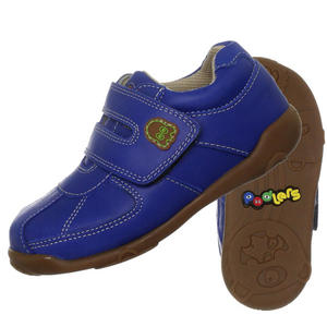 Podlers Sherbert Leather Velcro Casual Shoes Kids Boys Size