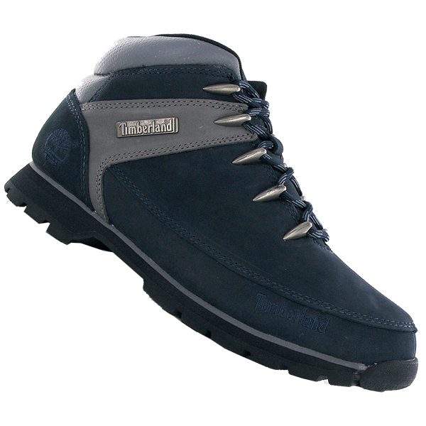 timberland sprint 27576 hiker leather boots navy blue