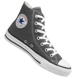 Converse All Star HI Canvas Pumps Trainers Shoes Charcoal Grey Size 3- 11