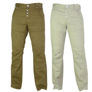View Item Crosshatch Kaychino Straight leg Chino Jeans Trousers Mens Waist Size
