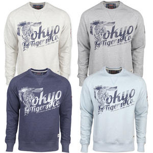 View Item Tokyo Tigers Sanjo Printed Crew Neck Pullover Jumper Sweatshirt Top Mens Size