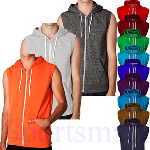Raiken Apparel Sleeveless Gilet Jumper Hooded Top Hoodie Mens Size S - XL