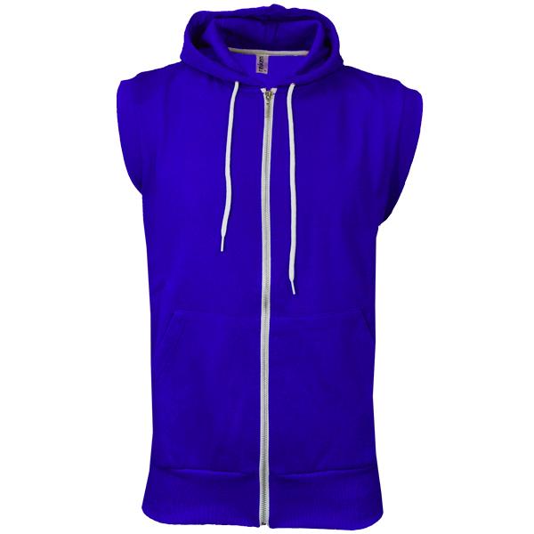 Raiken-Apparel-Sleeveless-Gilet-Jumper-Hooded-Top-Hoodie-Mens-Size-S-XL