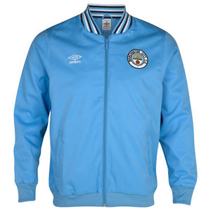 View Item Umbro Manchester City FC Home Anthem FZ Jacket Vista Blue Mens Size S-XXL