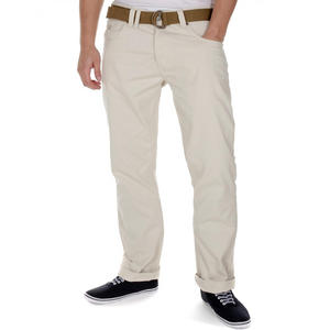 View Item Smith & Jones Eastwood Belted Chino Jeans Trousers Oatmeal Mens Waist Size