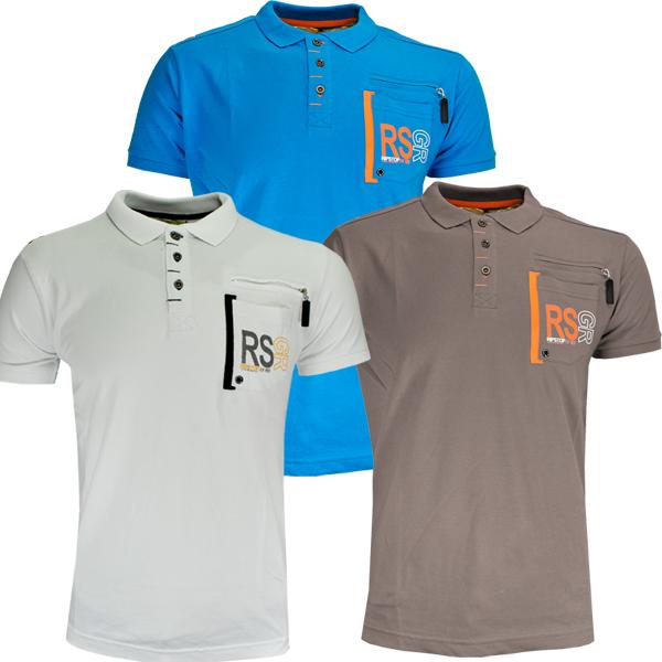 Ripstop keoma grandad graphic logo print polo t shirt boys for 7 year old boy shirt size