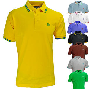 View Item Raiken My First Twin Tipped Casual Cotton Polo T-Shirt Mens Size S-XXL