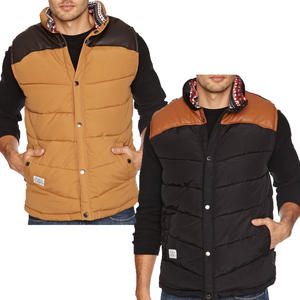View Item Bellfield Hunter Zip Up Quilted Padded Bodywarmer Gilet Jacket Mens Size S-XXL