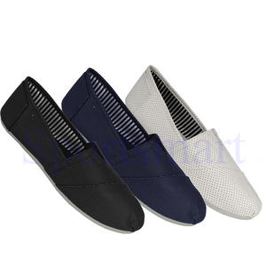 View Item Soulstar PU Pumps PlimSolls Espadrilles Slip On Trainers Mens Size UK 7 - 12
