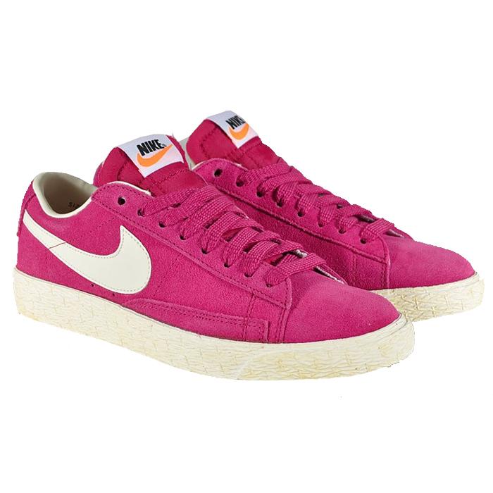 nike blazer low pink