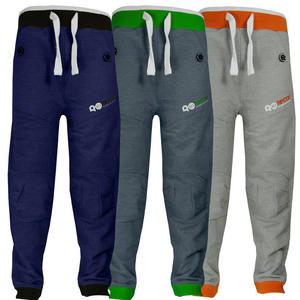 View Item Crosshatch Reeper Cuffed Fleece Jogging Bottoms Trousers Boys Size 6-14 Years