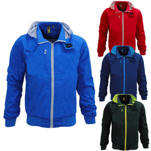 View Item Raiken Sonic Full Zip Lightweight Hooded Windrunner Rain Jacket Mens Size S-XL