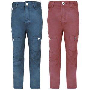 View Item Ripstop by Crosshatch Ranford Straight Leg Chinos Jeans Boys Size 7-13 Years