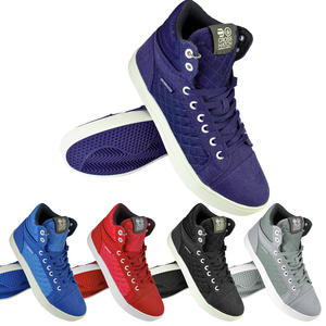 Crosshatch Tolfa Hi Top Quilted Panel Canvas Sports Trainers Mens Size UK 7-11