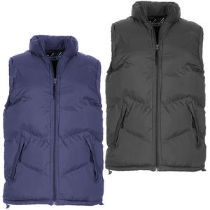 View Item Smith & Jones Palantino Puffa Zip Up Quilted Padded Bodywarmer Gilet Jacket Mens