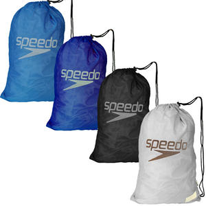 View Item Speedo Standard Mesh Pool Gear Lightweight Gym Sports Swimming Equipment Bag