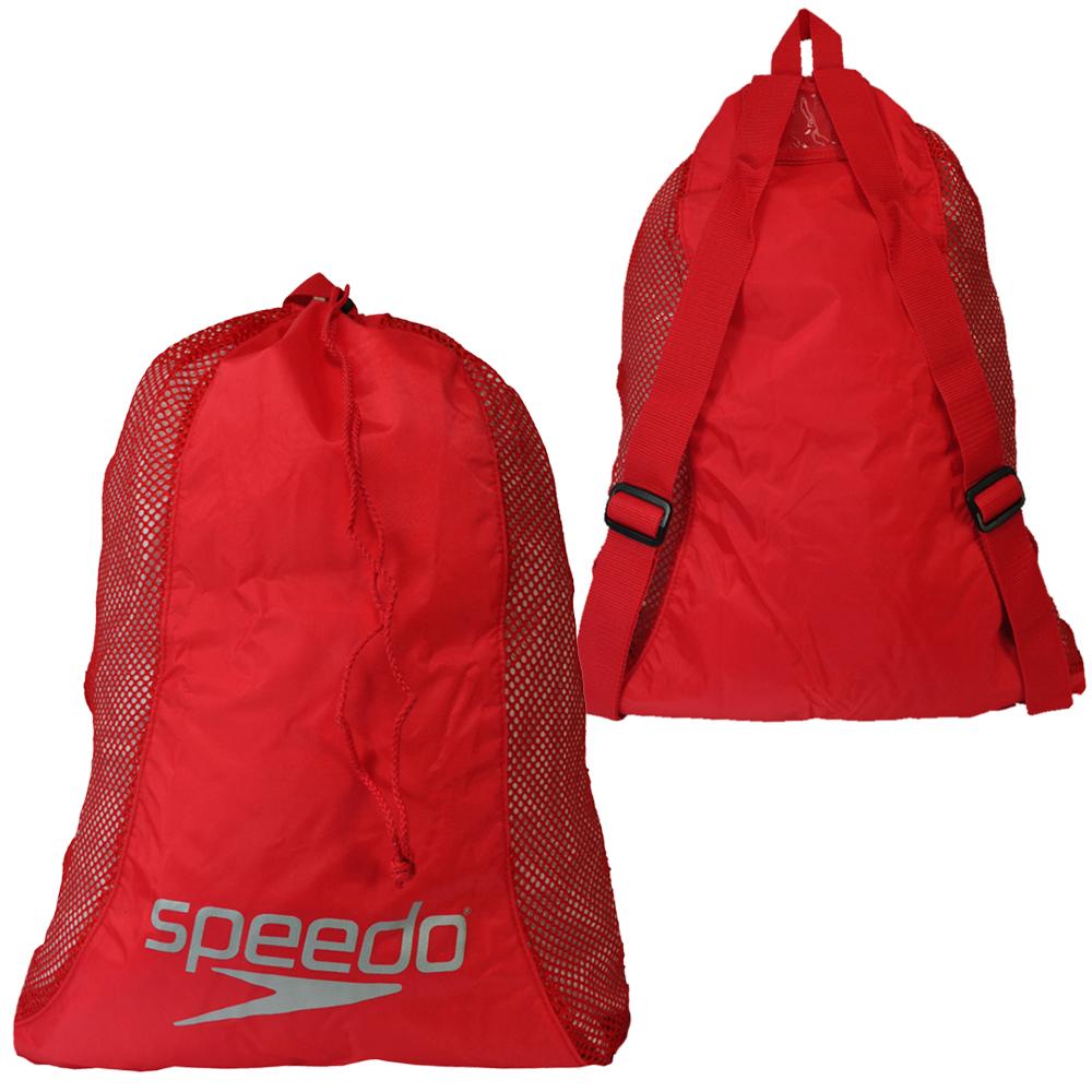 Speedo Deluxe Mesh Pool Gear Lightweight Gym Sports Swimming Equipment Bag Ebay