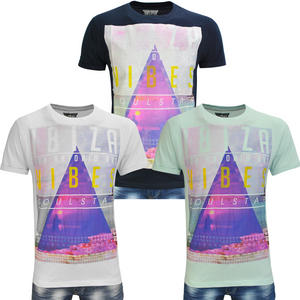 View Item Soulstar Vibes Ibiza print Mens T-Shirt