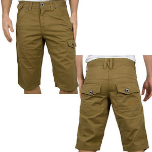 View Item Crosshatch Device Cargo, Combat Chino Shorts Tobacco Mens Size W28-W38