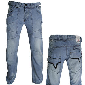 View Item Venom Victor Classic Fit/Straight Leg Light Blue Jeans Boys Waist Size 24&quot;-29&quot;
