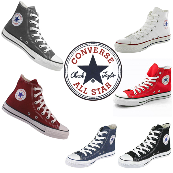 All-Star-HI-Top-Canvas-Pumps-High-Trainers-Shoes-Mens-Womens-UK-Size