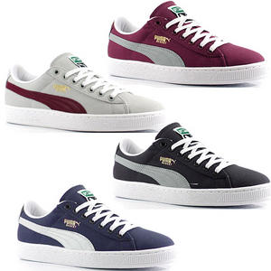 View Item Puma Basket Classic Low Canvas Trainers/Shoes Mens Size UK 6 - 11