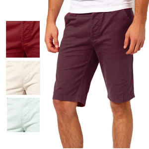 View Item Bellfield Soft Denim Chino Shorts Mens