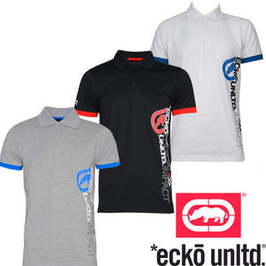 View Item Ecko Boxter Side Print Mens Polo Shirts