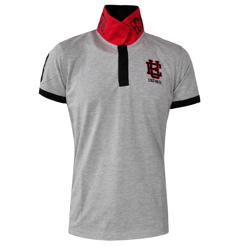 polo shirt collar up
