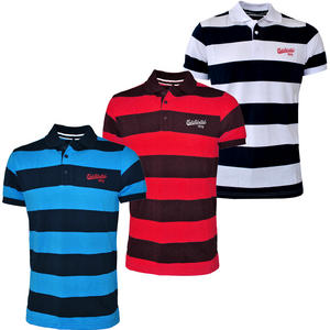 View Item Ecko Untd Targa Mens Striped Polo Shirts