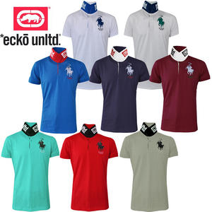 View Item Ecko Untd Carrera Up Turn Collar Print Mens Polo Shirt
