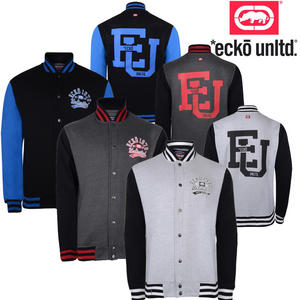 View Item Ecko Unltd Vermont Varsity Baseball Mens Jacket