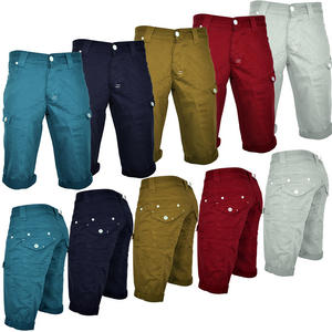Crosshatch Morton Cargo Mens Chino Shorts