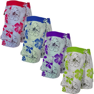 Crosshatch Austra Floral Print Mens Summer Shorts
